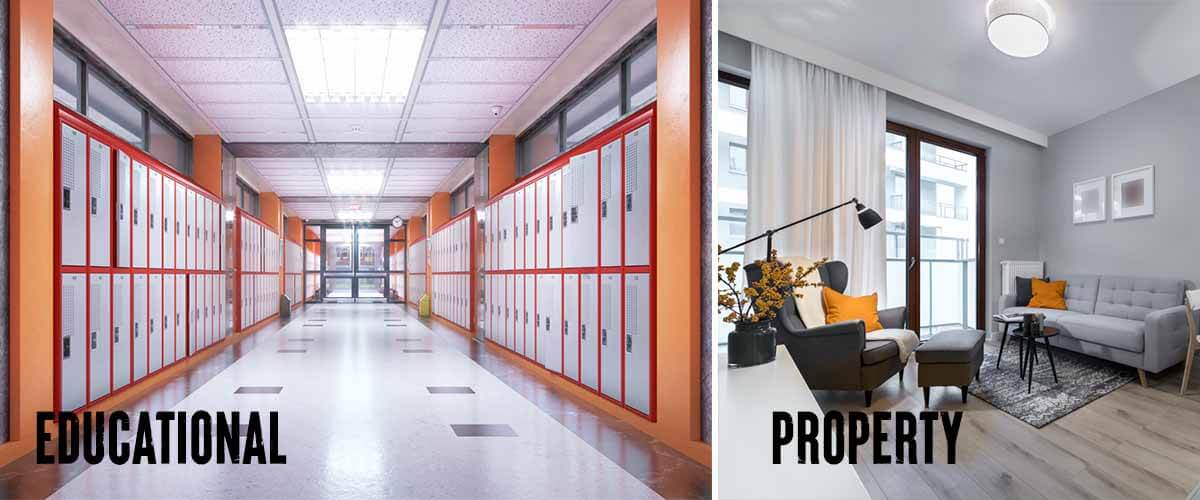 electrical services for educational sector
